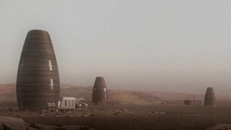 centraldesign mars nasa 3d print homes