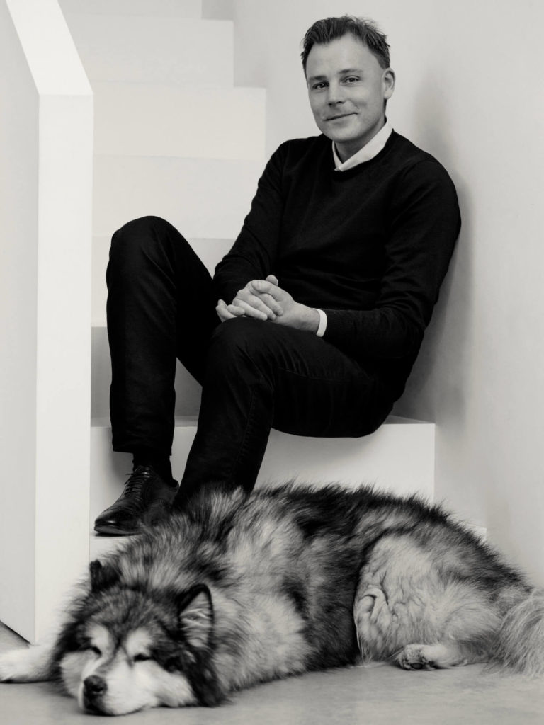 CentralDesign.site guillaume alan and is dog