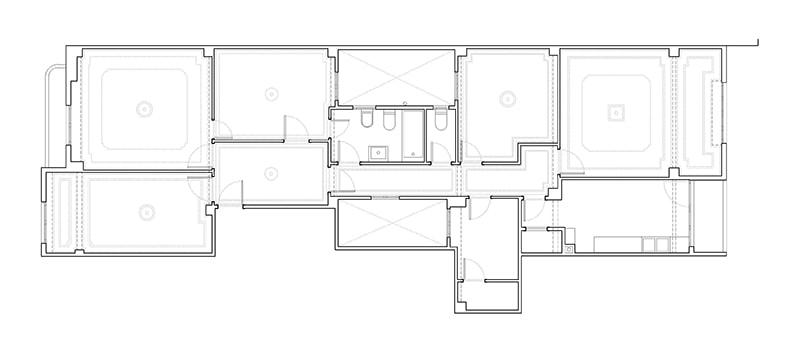 existing Floor plan by DG Arquitecto Valencia