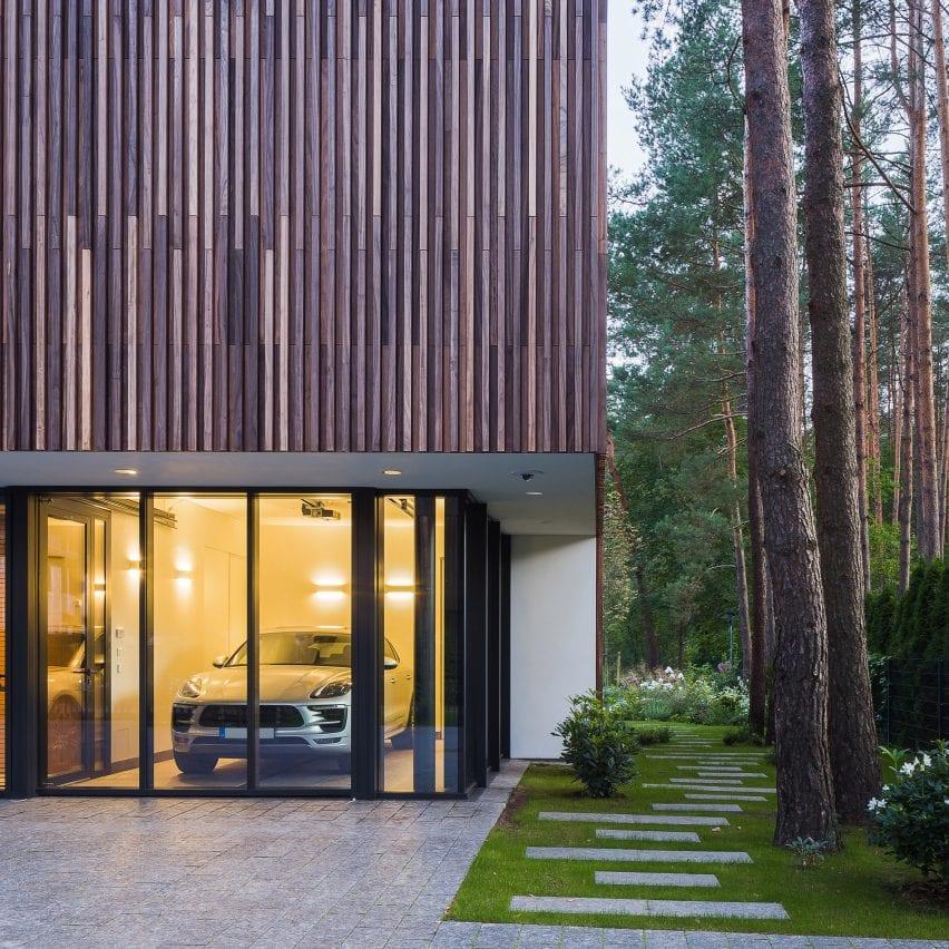 Smilgu House by Plazma