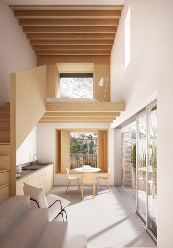 Backhouse-interior